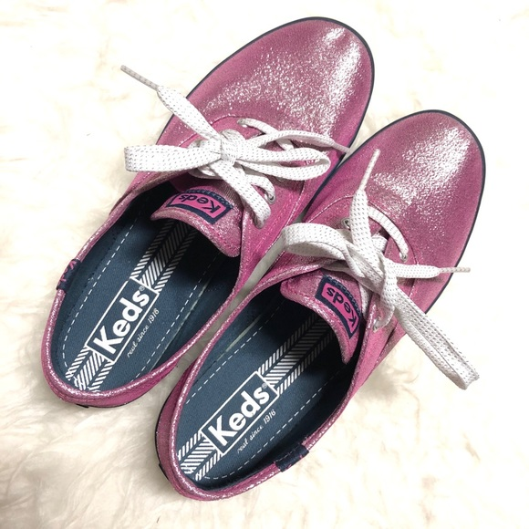 Keds Pink sparkle shoes sneakers